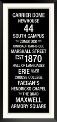 Order Print: Syracuse: College Town Wall Art