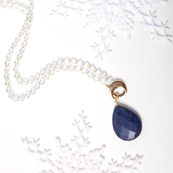 Lapis Intuition Amplifier - Gold by Tiny Devotions