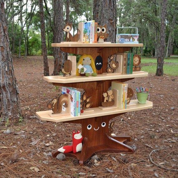 dammit, now I need $2100.00!: Bookshelves, Playroom, Trees, Animal Bookends, Baby, Tree Bookshelf, Kid