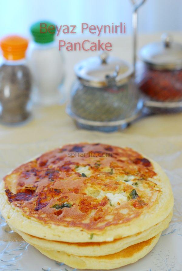 Beyaz Peynirli Pancake