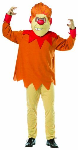 Rasta Imposta Mr. Heat Miser Costume, Orange, One Size  - Click image twice for more info - See a larger selection of kids tv and movie costumes  at  http://costumeriver.com/product-category/kids-tv-and-movie-costumes/ -  kids, holiday costume , event costume , halloween costume, cosplay costume, classic costume,  clothing, gift ideas