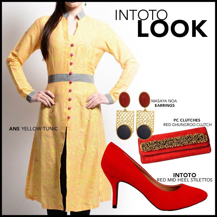 Violet street ft INTOTO  Pump up the desi look with a stunning pair of classy touch  #INTOTO #violetstreet #classytouch #redpumps #suede