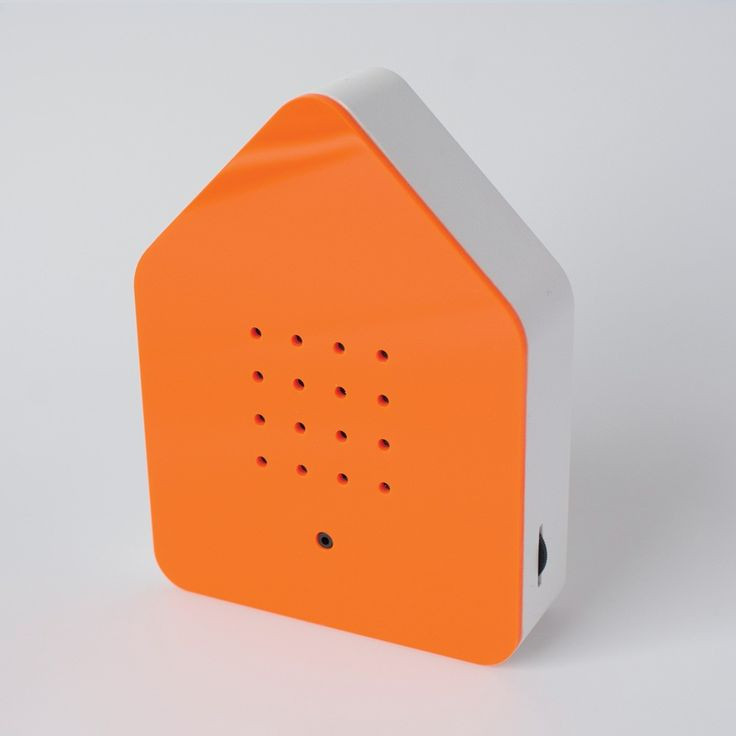 Orange Birdsong Box: As simple as it is ingenious, the Zwitscherbox is designed to relax and bring a sense of calm to our hectic lives. Zwitscher is German for tweeting and chirping, and that's exactly what this clever little box does. The sleek piece of design has a motion sensor that will set off gentle birdsong when it senses movement. When you enter the room it will play for two minutes and then gently subside.  It is well known that birdsong has a positive effect on us humans so we…