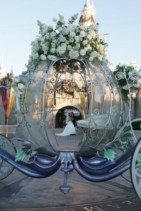 Disneyland Wedding Photo Shoot  Disney... Who didn't want to be a princess and have a wedding like this