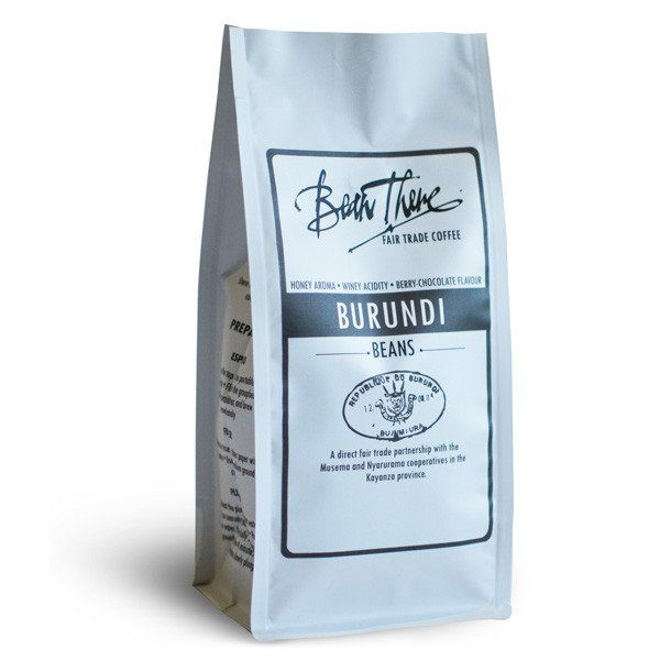This coffee is sourced directly from two cooperatives in Burundi. It displays…