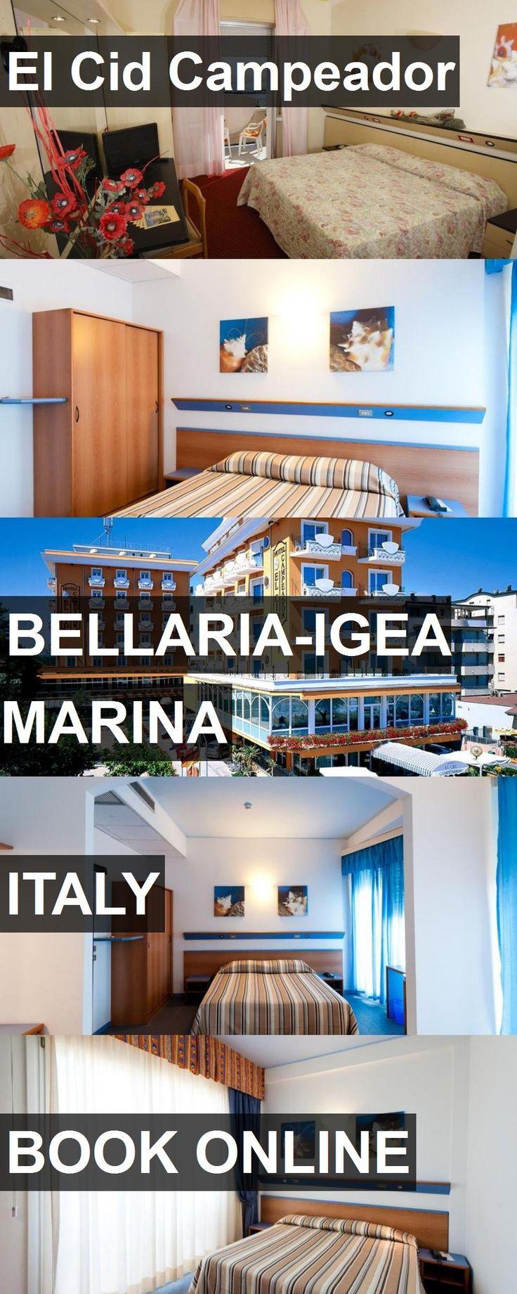 Hotel El Cid Campeador in BellariaIgea Marina, Italy. For
