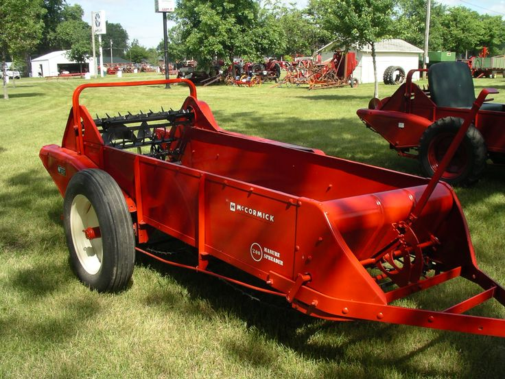 Farmall Manure Spreader : Best manure spreaders images on pinterest vintage farm