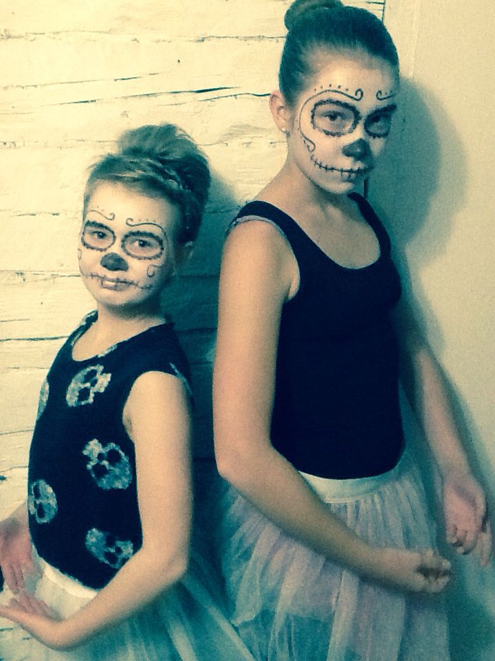 Halloween ballerinas