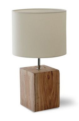 Megeve Elm Table Lamp - £85.00 - Hicks and Hicks