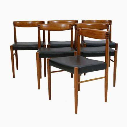 Außergewöhnlich Vintage Esszimmerstühle Von H. W. Klein Für Bramin, 6er Set Jetzt Bestellen  Unter: ...