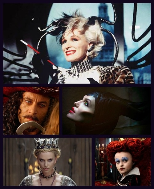 hmmmmmmmmmmm.... Why does Disney make almost all their Queens Villians... would love to see GOOD Queens... (Women leaders) not just nicey Princesses...  live action villians. Cruella, Captain Hook, Malefcient, Evil Queen, Red Queen.