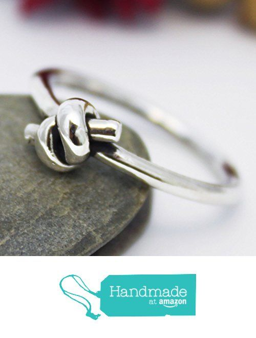 Unique Thick Knot Ring, Engagement Ring, Simple Silver Ring, Handmade Knot Ring, Silver Ring, Unisex ring, Statement Ring, Promise Rings for Women, Men and Couples, Couple Ring from rosajuri https://www.amazon.com/dp/B06WP5BZ5H/ref=hnd_sw_r_pi_dp_d3h1ybXQBRF7Q #handmadeatamazon