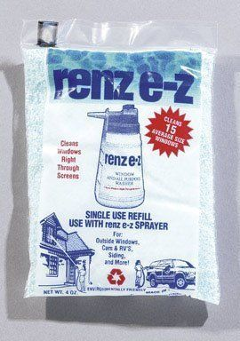 Remwood Prod. 13072 Renz E-Z Window And All-Purpose Washer (Pack of 24) by Remwood. Save 56 Off!. $45.84. RENZ E-Z ALL PURPOSE WINDOW WASHER SPRAYER REFILL *4 oz. *Cleans an average of 15 windows *Fits Renz E-Z window washer, Ace# 1221902