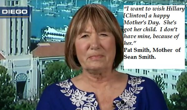Pat Smith, mother of Sean Smith has a Mother's Day message for Hillary Clinton #Benghazi