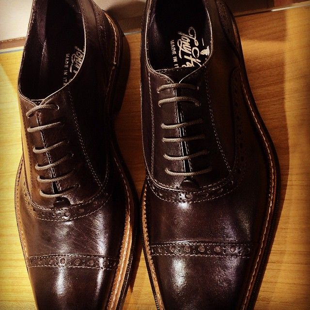Brown Oxford Style