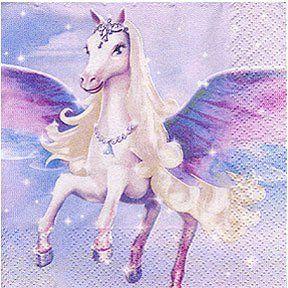 Barbie Magic of Pegasus Beverage Napkins   16 Count. #Barbie #Magic #Pegasus #Beverage #Napkins #Count