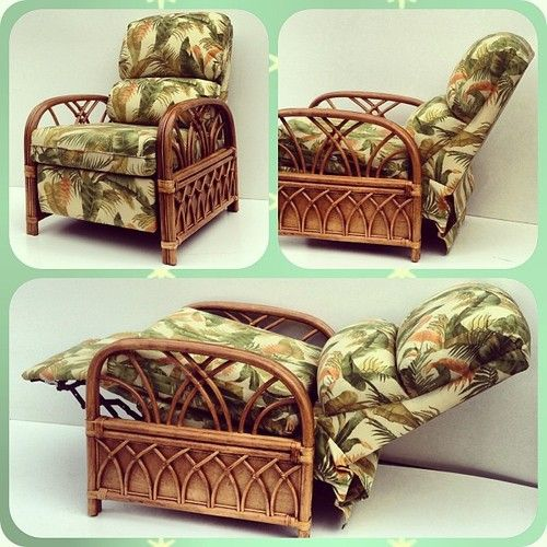 #Rattan #Recliner #Chair showcased on the wicker... — | Wicker Furniture Blog www.wickerparadise.com