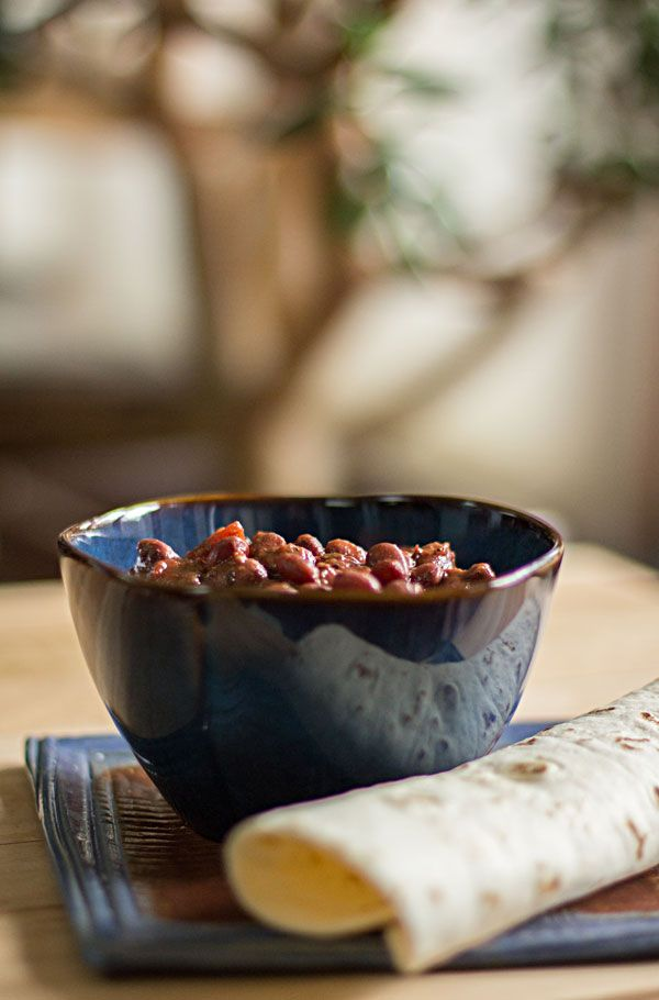 Slow cooked pot of spicy red beans. Small red beans, slow-cooked with a few vegetables and spices. #redbeans #beans @mjskitchen