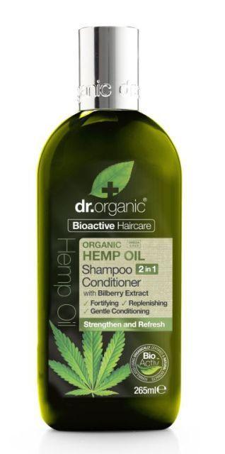 Dr Organic Hemp Shampoo Conditioner 2in1