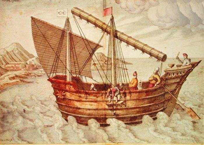 Faxian adalah orang Tionghoa yang pertama kali mengunjungi Jawa pada tahun 414 M. Dia adalah seorang biksu (pendeta Buddha) yang melakukan perjalanan darat dari Tiongkok menuju India. Dalam perjalanan pulangnya