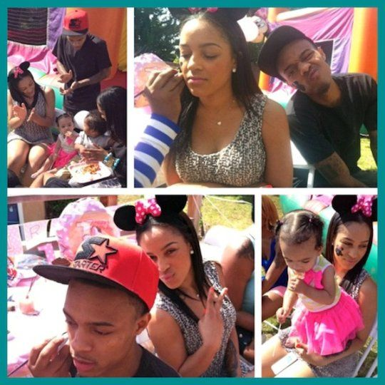 Bow Wow's Girlfriend Joie Chavis Puts On Clown Party For Daughter Shai!