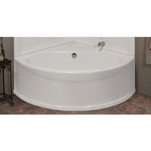 Sea wave v corner soaking bathtub bathroom remodel ideas for Lyons whirlpool tub