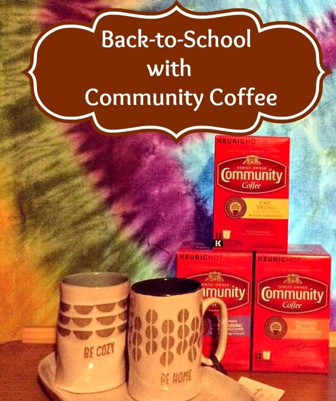 Back-to-School with Community Coffee Plus GIVEAWAY #Sponsored 10/15