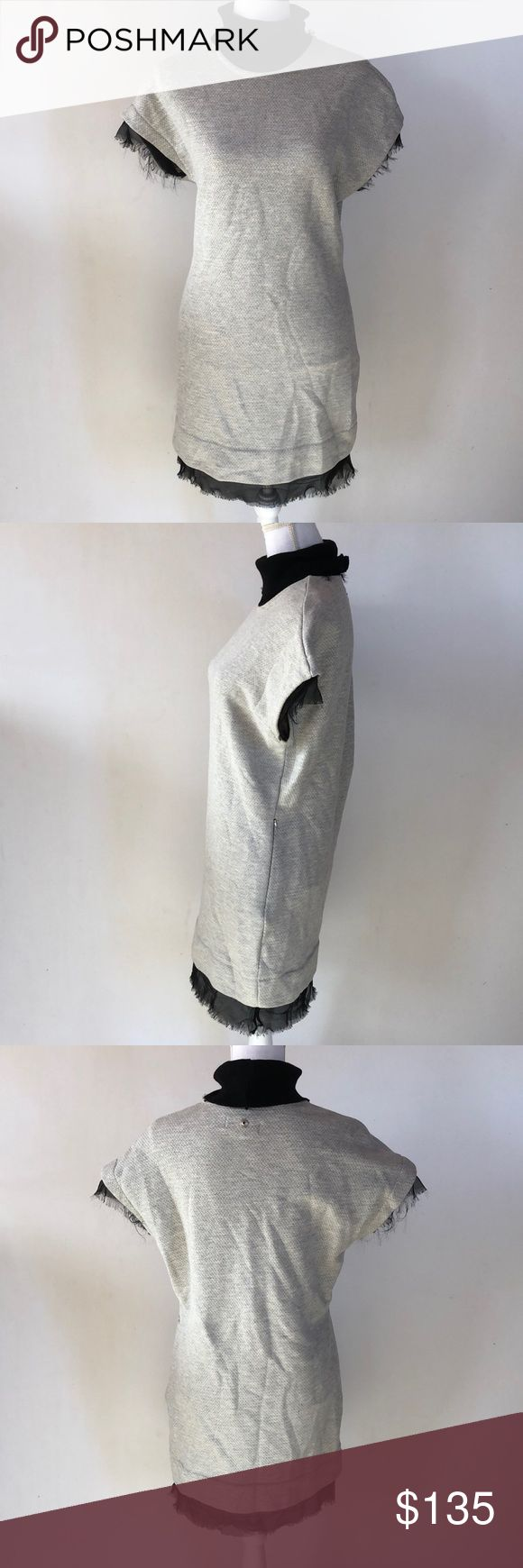 NWT Diesel D-ALMA-A Dress Grey, S This NWT Diesel D-ALMA-A Dress Grey, S is the perfect dress for those colder fall and winter days! Pair with black booties! EXCELLENT CONDITION NI DEFECTS Diesel Dresses Midi