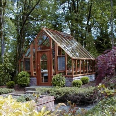 Tudor Green house kit - how cool is that by Sturdi-Built
