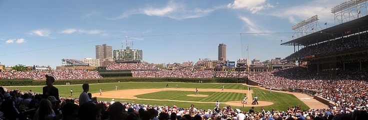 Nothing like a fun afternoon game at the friendly confines of Wrigley Field in Chicago.