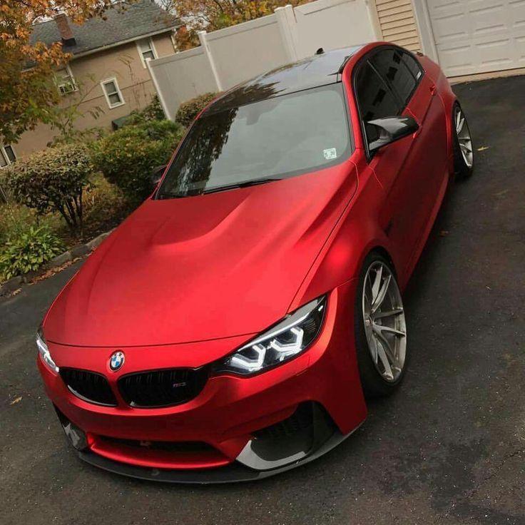 BMW F80 M3 red