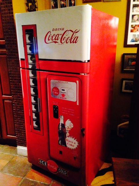 Coca Cola Vending Machine Refrigerator Wrap Refrigerator
