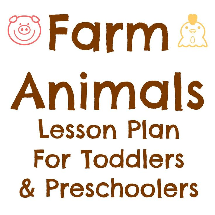 MONDAY Activity: Visit the library for farm themed books Craft: Peek-A-Boo Barn Craft (Jake will color pieces) Song: Old MacDonald Had A Farm Snack: Crackers and Cheese TUESDAY Activity: Play with ... farm animals