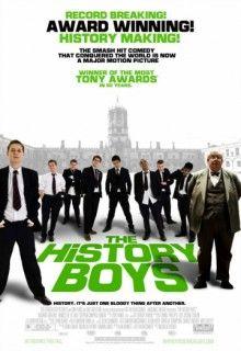 Любители истории (2006) http://hdlava.me/films/lyubiteli-istorii.html  Британская комедийная драма «Любители истории» (The History Boys) перенесет зрителя в 1983 год в графство Йоркшир. В центре событий восемь выпускников, которые получили в средней школе высшие баллы. Только они имеют шанс подать заявление в Кембридж или Оксфорд. Только перед тем, как поступить в престижнейшее учебное заведение, им предстоит пройти самые настоящие подготовительные курсы с акцентом на историю. Получать…