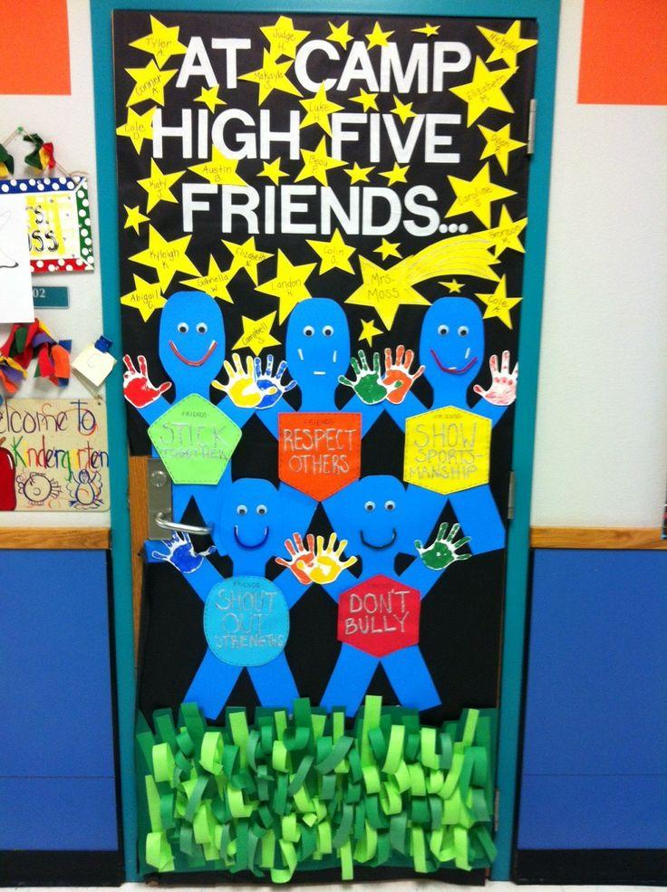 Kindergarten door at Amy Parks-Heath Elementary in Heath, TX!  Boosterthon