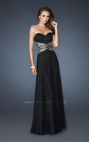 La Femme 18558   La Femme Fashion 2013 - La Femme Prom Dresses - Dancing with the Stars
