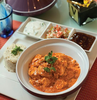 Butter chicken by MasterChef SA winner, Deena Naidoo Been to the Resturant in monte casino!