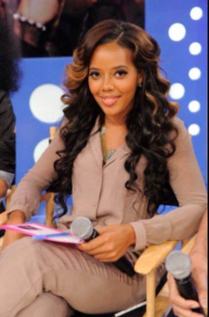 59 best weave hairstyles images on pinterest plaits atlanta and angela simmons pmusecretfo Image collections