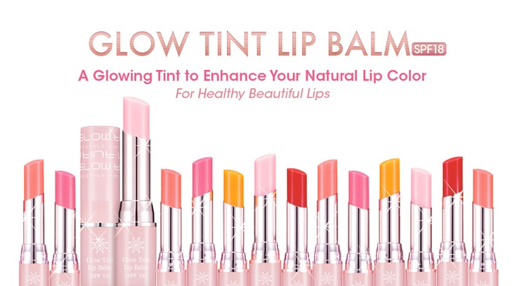 The Style Glow Tint Balm - Tinted lip balm with natural and lively color to create beautiful & healthy lips with SPF 18 #Missha: Style Glow, Living Colors
