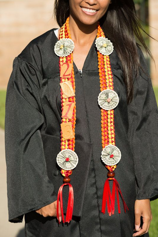 Graduation Money Lei Custom Ribbon Lei Braided Stole by ...
