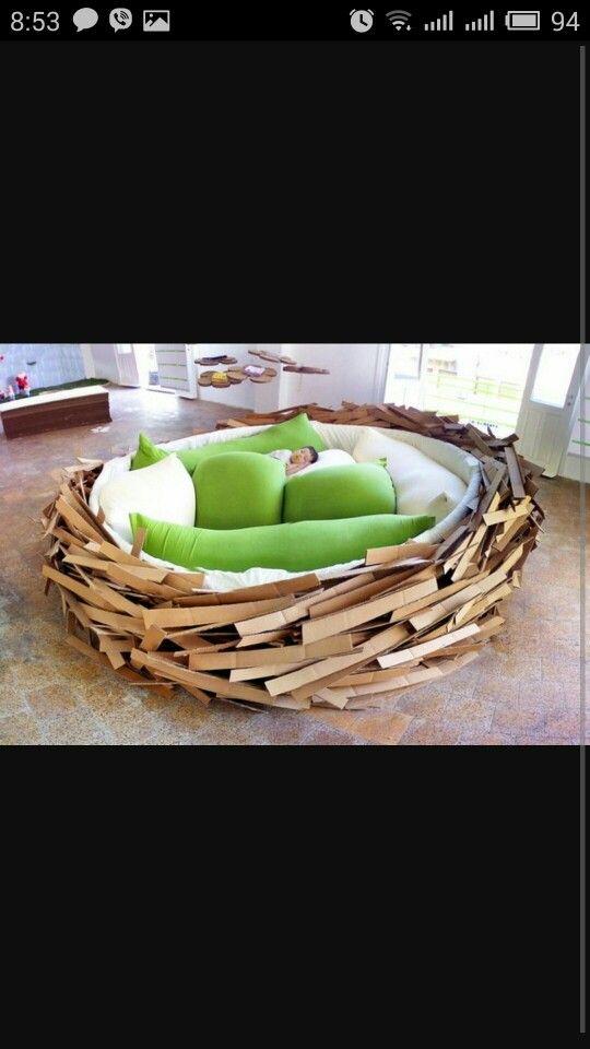 диван гнездо