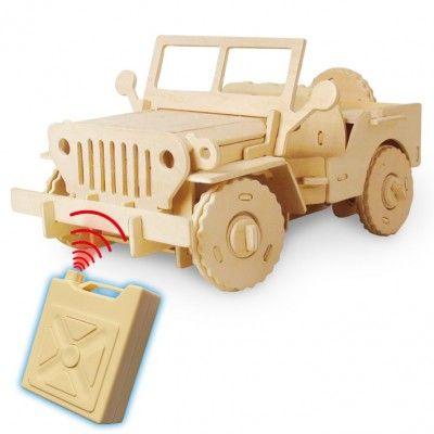 RoboTime - Stavebnica RC Jeep na diaľkové ovládanie