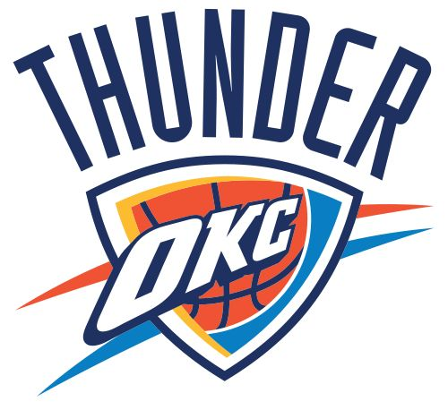 Printable Oklahoma City Thunder Logo