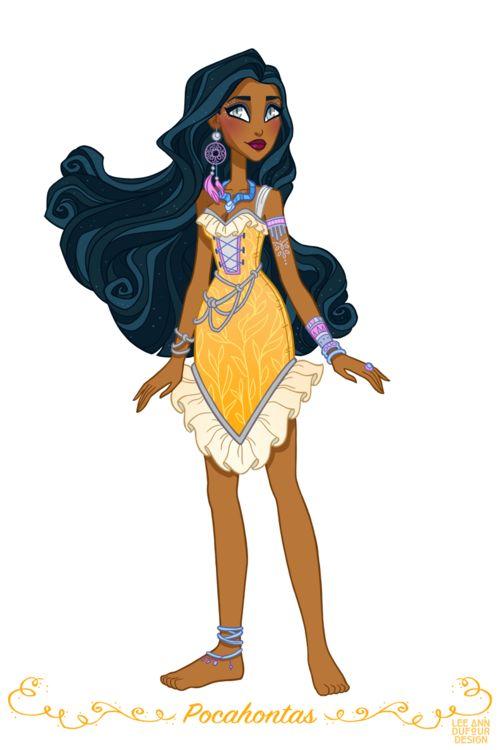 Pocahontas By Lee Ann DuFour Design