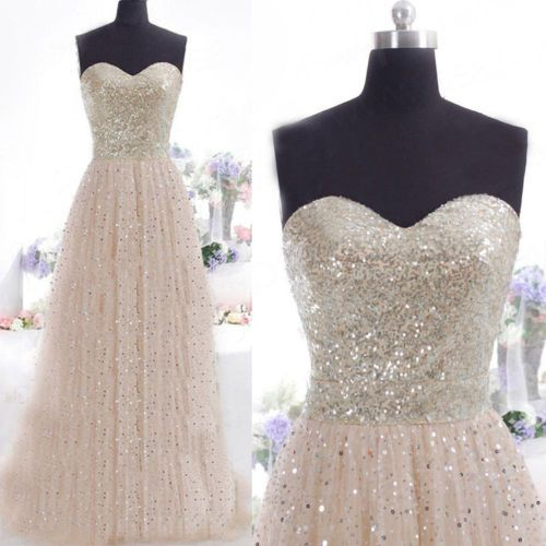 Sequins-Long-Formal-Prom-Dress-Cocktail-Party-Ball-Gown-Evening-Bridesmaid-Dress