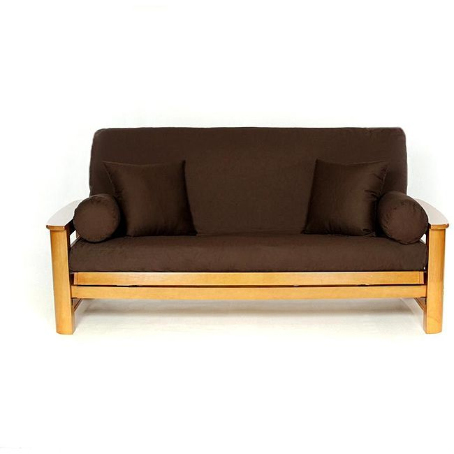 Brown Full Size Futon Cover Ping The Best Prices On Covers