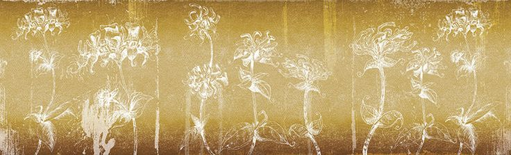 mystic flowers | Inkiostro Bianco | Collezioni | Carta da parati vinilica e fibra di vetro | Inkiostro Bianco