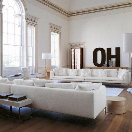 Charles Large Sofa Comp 2 by B&B Italia - Antonio Citterio