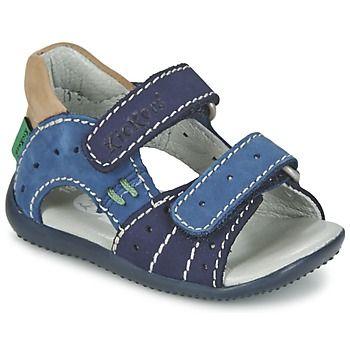 Sandales+et+Nu-pieds+Kickers+BOPING+Marine+64.99+€