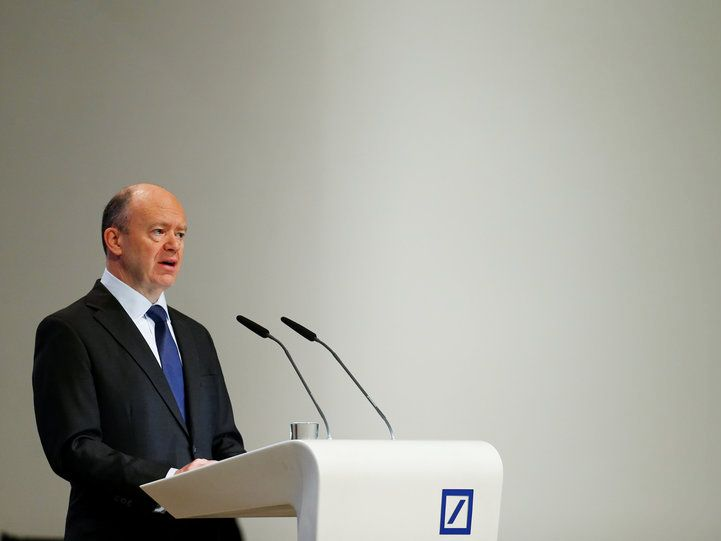 "Deutsche Bank CEO tells staff: Prepare for Brexit 'worst outcome' - LONDON — Deutsche Bank CEO John Cryan told employees that the German lender is preparing for a hard Brexit in which roles will ""inevitably"" move from London to Frankfurt.  Cryan said in a video announcement on July 11 that the bank ""will assume a reasonable worst outcome"" from the UK's talks with the European Union, according to a Bloomberg News report.  ""The worst is always likely to be worse than people can imagine,"" Cryan…"